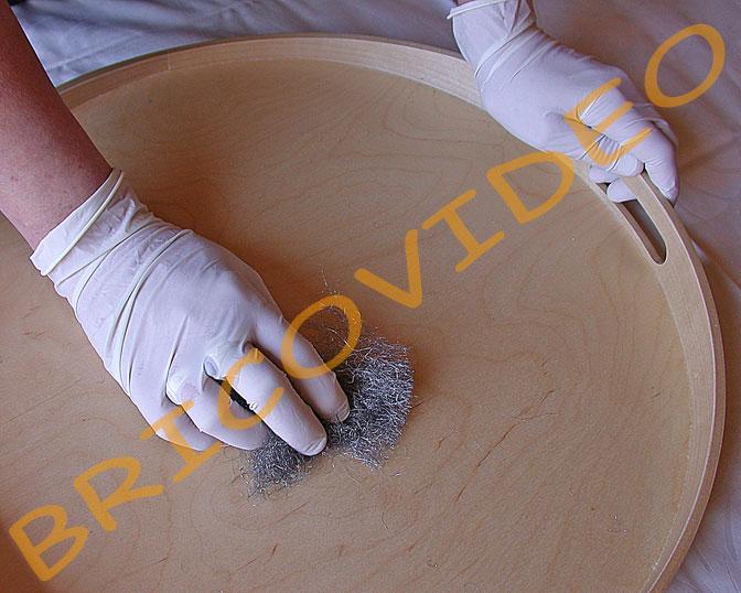 Bricolage cr atifs mosa ques plateau bois d coupe miroir for Fabriquer un miroir en bois