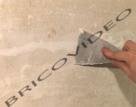 boucher les fissures d 39 un mur enduit de finition enduits de lissage. Black Bedroom Furniture Sets. Home Design Ideas