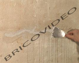 reboucher les fissures des murs et des plafonds enduit de rebouchage. Black Bedroom Furniture Sets. Home Design Ideas