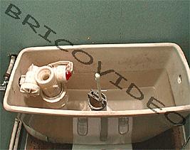 filet d 39 eau qui coule dansles wc probl me fuite. Black Bedroom Furniture Sets. Home Design Ideas