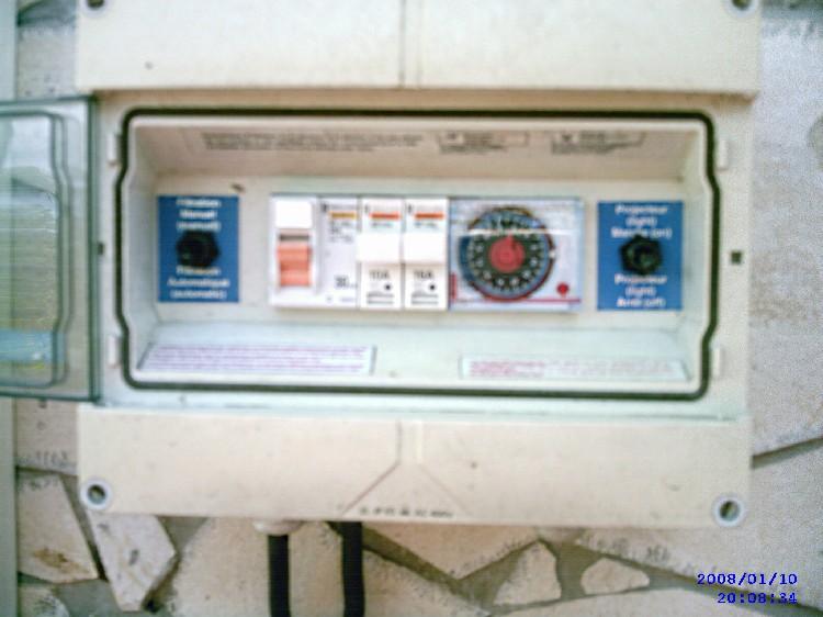 Programmateur piscine for Chauffage piscine 12v