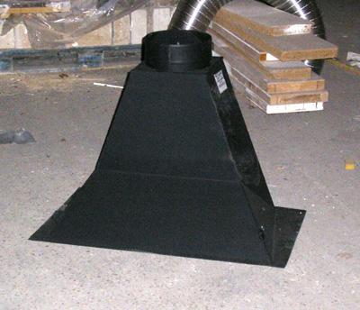 Avaloirs de chemin es conduits raccorder boisseaux for Construire un conduit de cheminee
