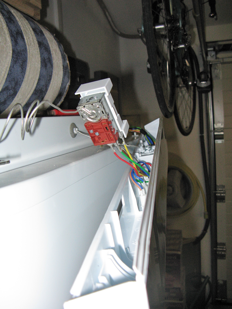 Bricolage la maison probl mes thermostat de frigot - Joint frigo ne colle plus ...