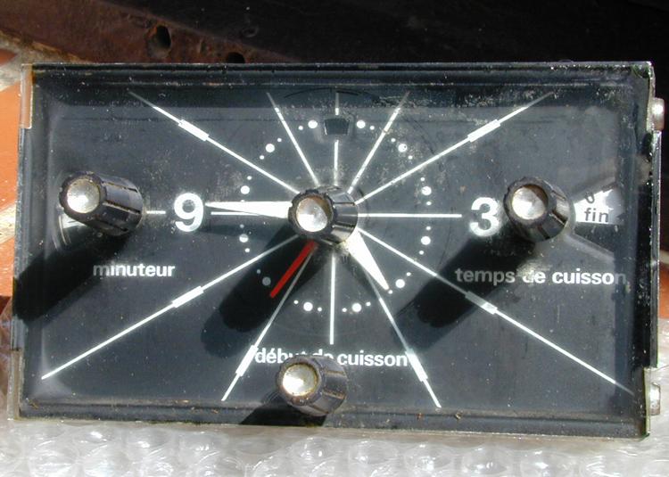 D pannage lectrom nager probl me four scholt s pendule programmateur thermostat comment r parer - Four de dietrich ancien modele ...