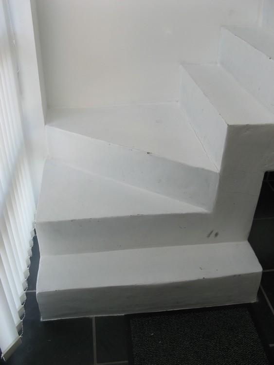 Fabrication escalier en b ton cellulaire hauteur des marches siporex enduit - Fabrication escalier beton ...