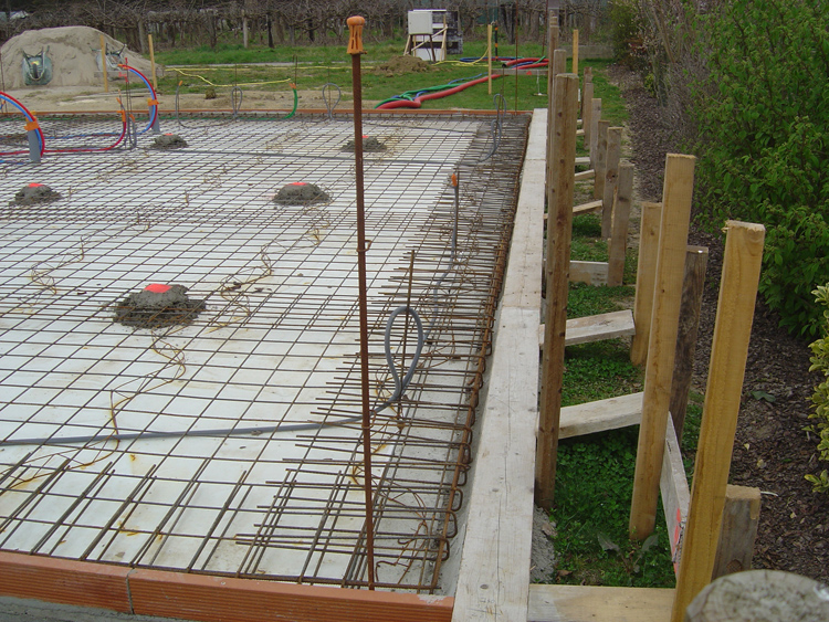 Fondations Construction Maison  Maonnerie Conseils Implantation