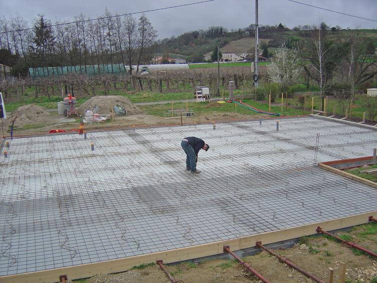 Fondations construction maison ma onnerie conseils for Soubassement d une maison