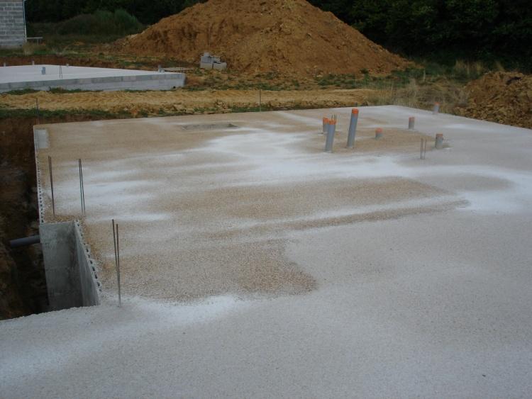 Pin dalle beton on pinterest for Dalle vide sanitaire
