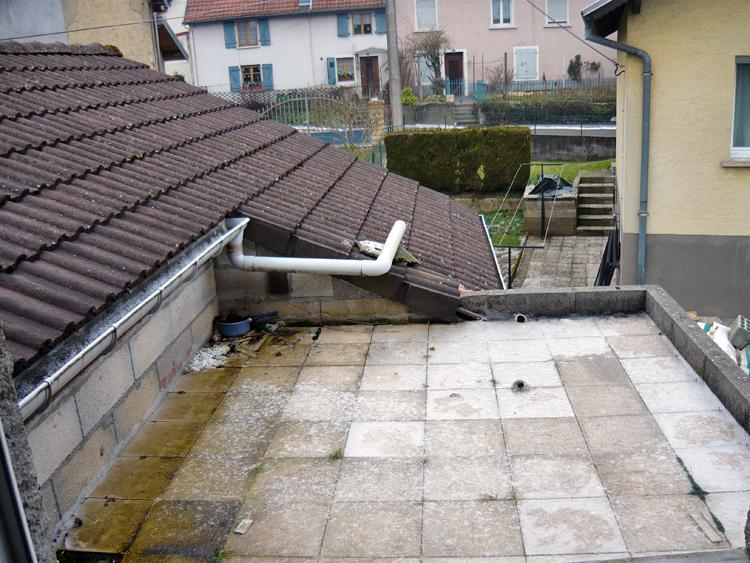 Questions inclinaison toiture garage maison fiches conseils travaux de bricolage for Toiture metallique maison