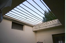 Plexiglas toiture