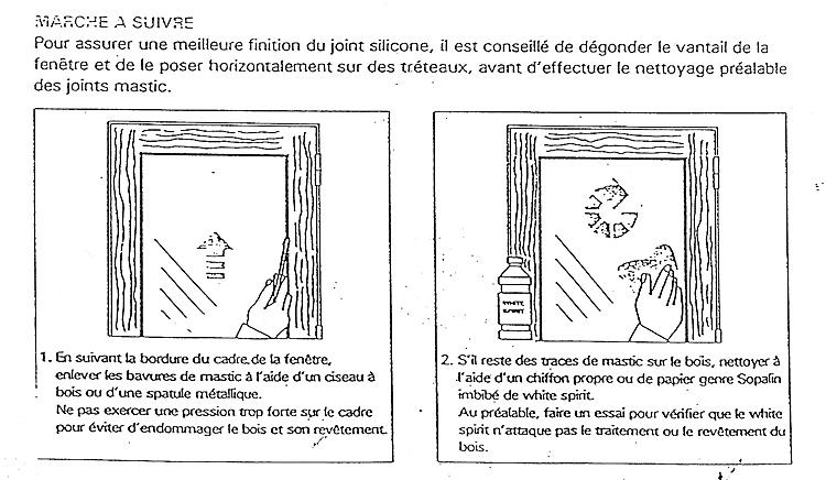 Problèmes Joints Fenêtres Bois Interdiction De Amiante Menuiseries