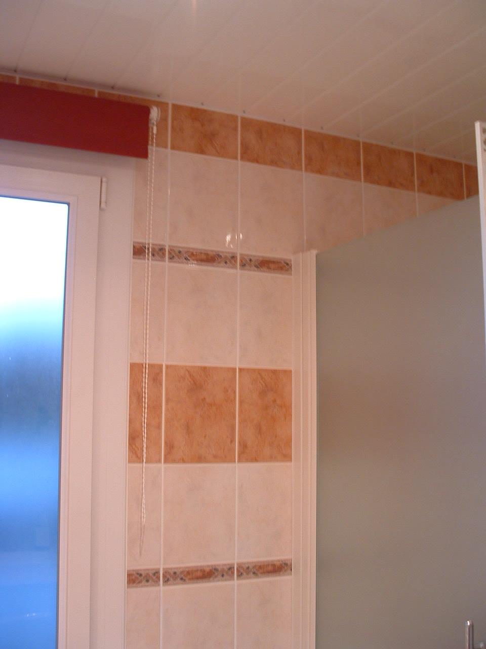 Pose carrelage carreler salle de bain conseils des for Carrelage au plafond